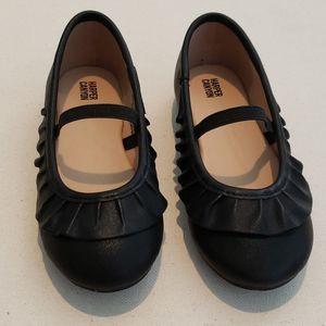Harper Canyon black toddler girls shoes